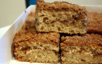 Classic Apple Coffee Cake