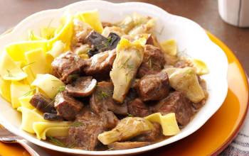 Crock Pot Artichoke Beef Stew