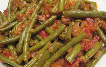 Greek Green Beans and Tomatoes
