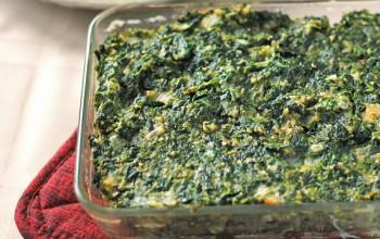 Vegetable Spinach Kugel