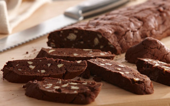 Chocolate and Honey Biscotti