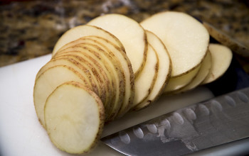 "Sliced Potato ""Pancake"""