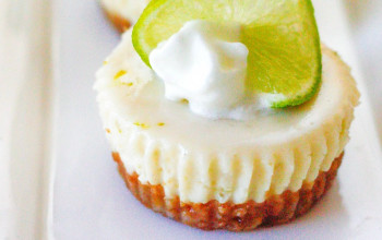 Miniature No-Bake Key Lime Pie Cheesecake