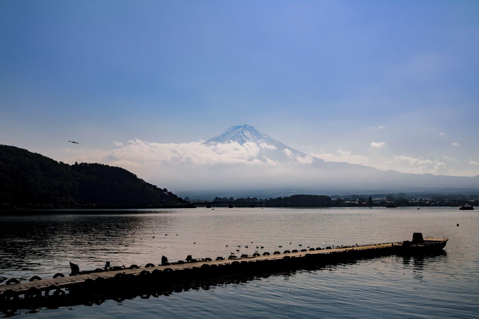 Mt Fuji.