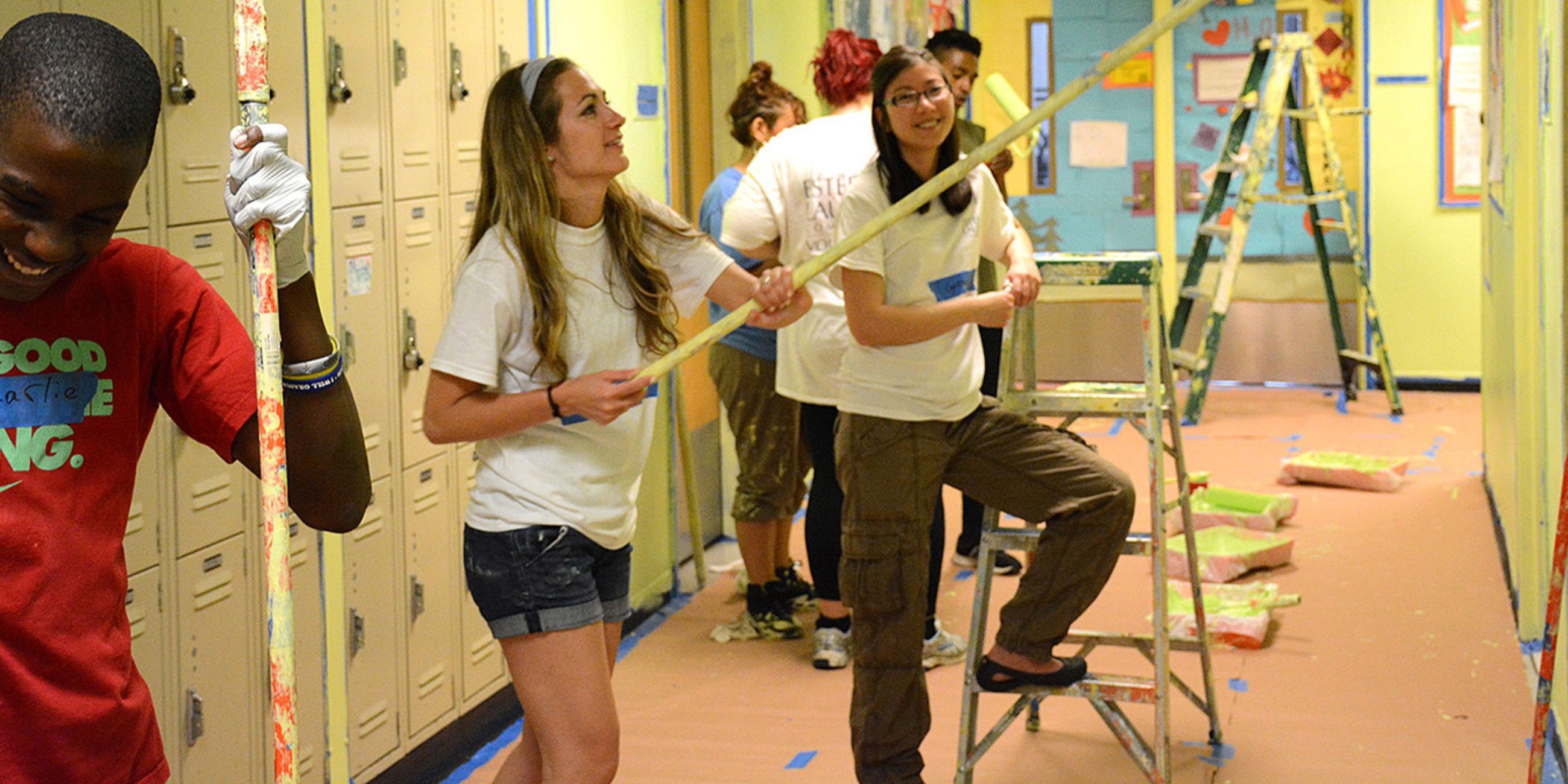 Transform Underserved NY Schools by Painting with Students
