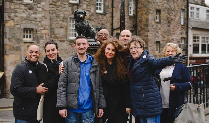 Invisible (Edinburgh): Edinburgh Walking Tour: Explore the Arts in Edinburgh