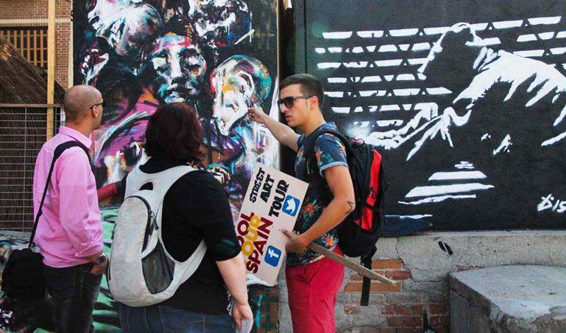 COOLTOURSPAIN:  Madrid Street Art Tour: Explore Spaces Repurposed for Urban Art