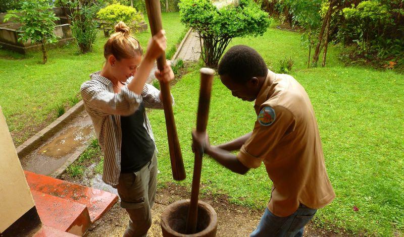 Peace Matunda: Mount Meru Discovery Tour: Daily Life in a Local Village