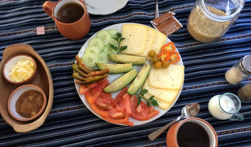 Mosqoy: Peru Farm Tour: Harvest Chacra in Casita Huarán