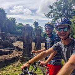 Angkor bike tour