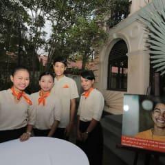 the restaurant school in Cambodia