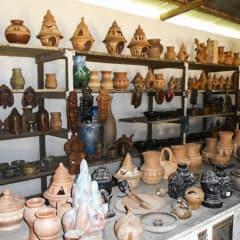 African artisans craft