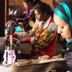 empowering Indian women -  textiles sewing