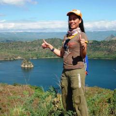 Taal Lake Volcano Island
