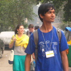 Delhi streets guided walking tours