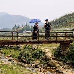 trekking Vietnam village