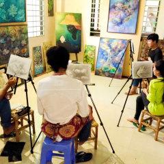 Cambodian children - art workshop