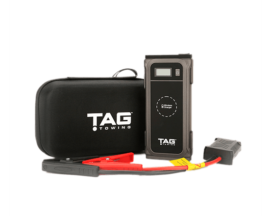 TAG Portable Jump Starter & Wireless Charger