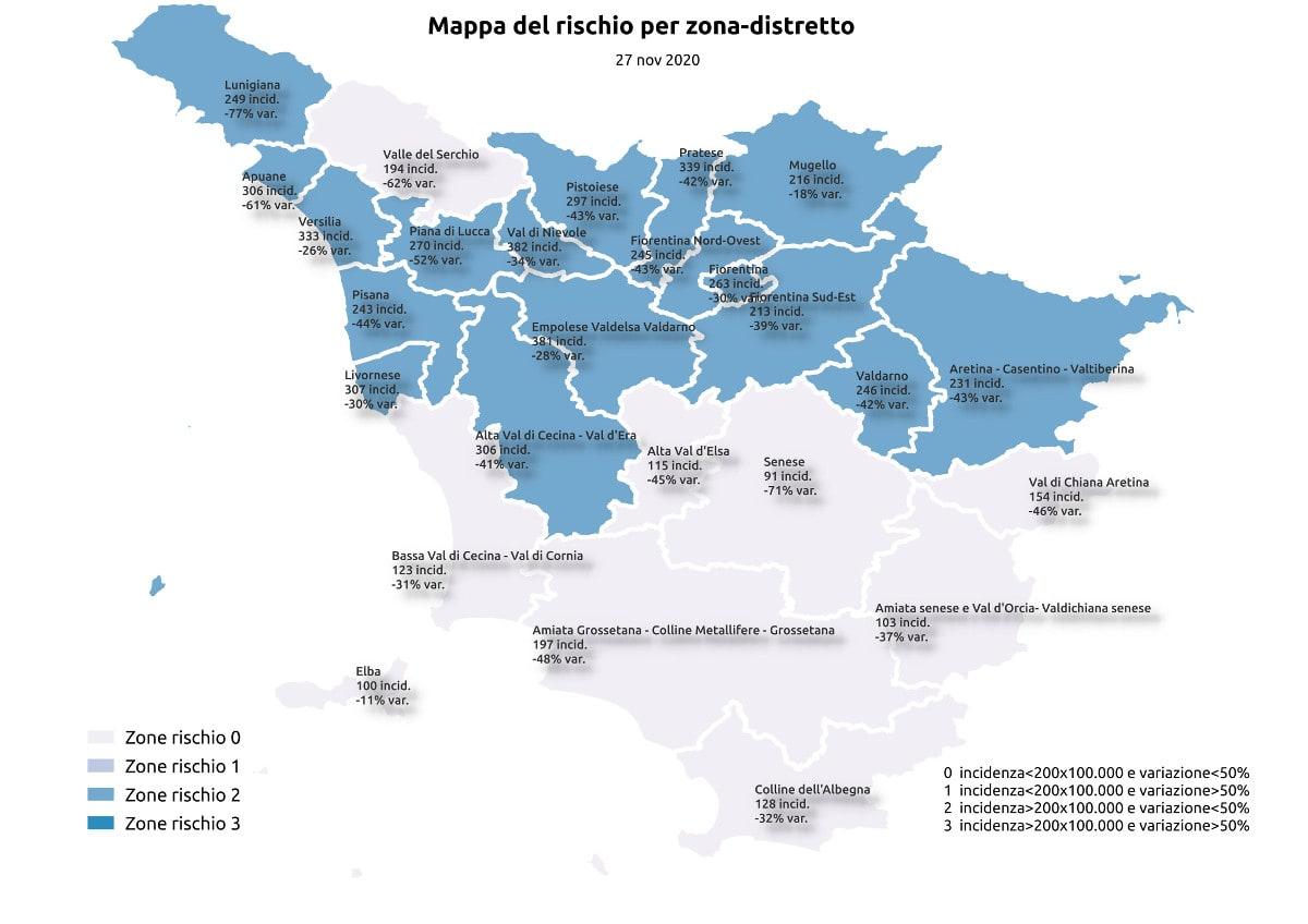 Covid in Toscana: va molto meglio (finalmente)