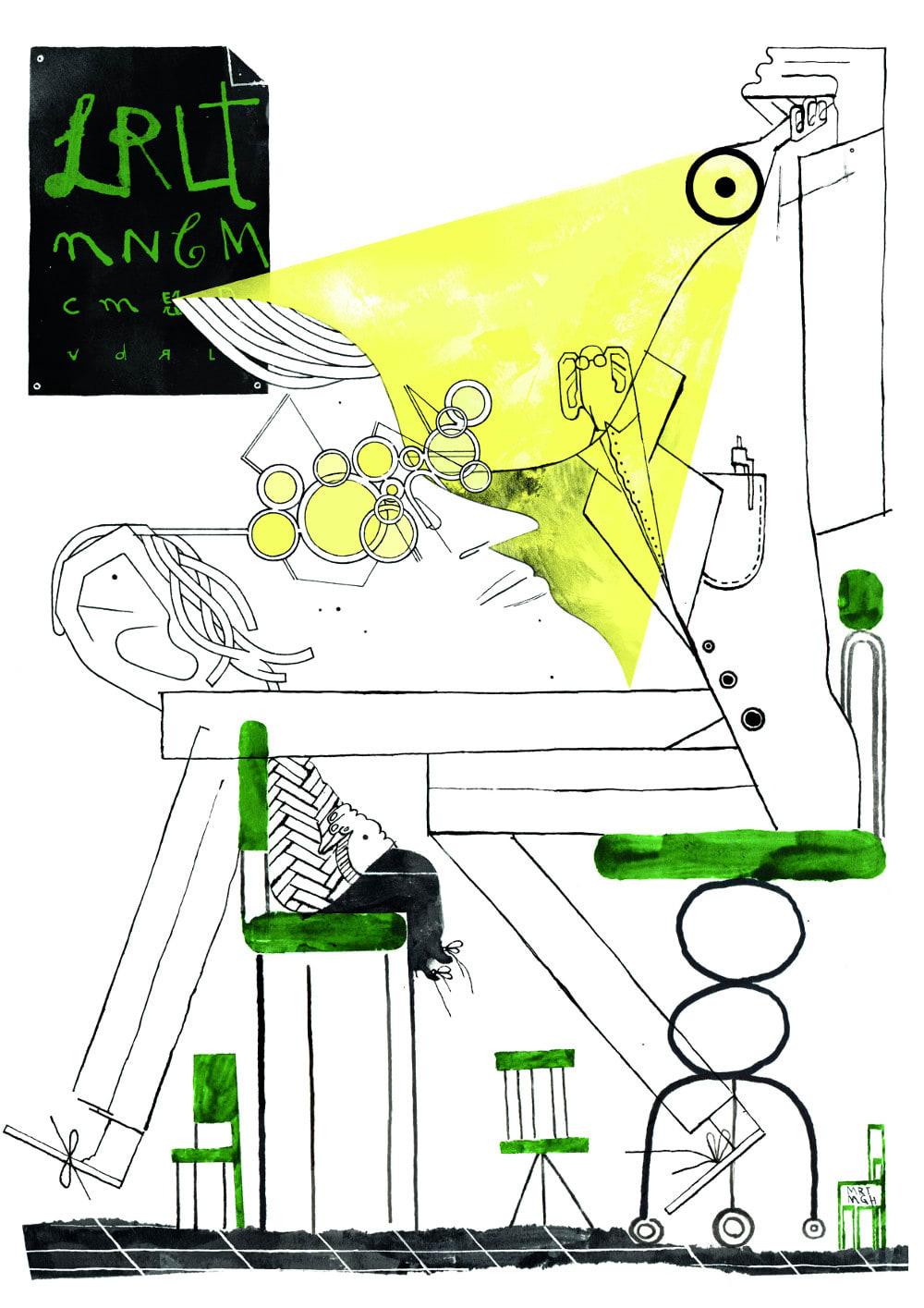 Sogno N.2 - Illustrato da Margherita Morotti
