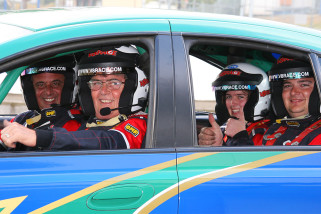 V8 Race Back Seat Car Ride 3 laps