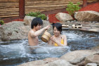 Massage, Hot Mineral Springs Bathe and Yum Cha - For 2