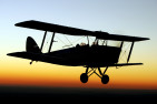 Havilland Tiger Moth Aerobatic Flight