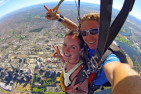 Tandem Skydive Over Perth CBD - 14,000ft