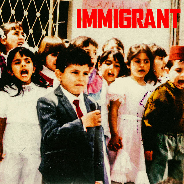 Belly - IMMIGRANT album artwork