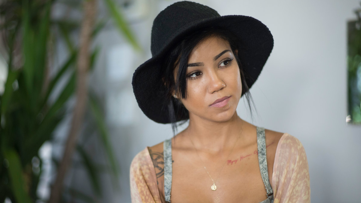 5671fde0ef5f Jhené Aiko Teams With Teva For New Shoe Collection