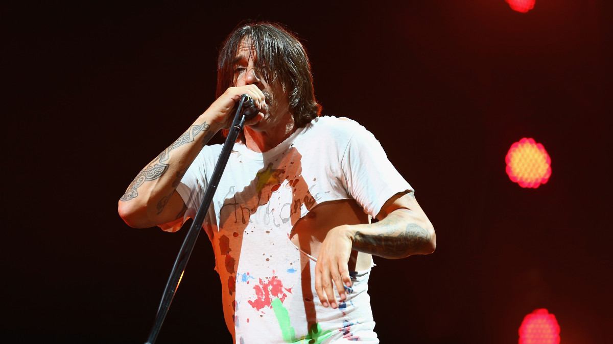 anthony kiedis and the red hot