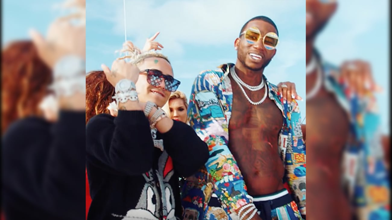 "Miami Auto Show >> Gucci Mane & Lil Pump deliver the visuals to ""Kept Back ..."