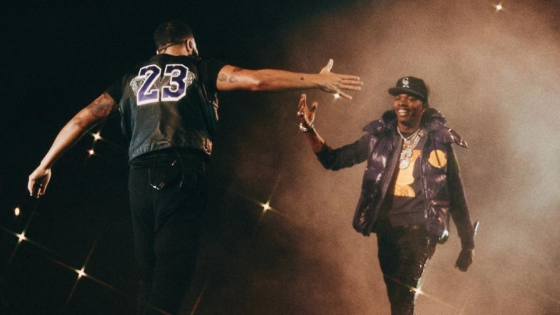 5a21fe6bf00c Drake and Migos surprise fans with Cardi B, Playboi Carti and Lil Baby  appearances at L.A. show | REVOLT - UNAPOLOGETICALLY HIP HOP
