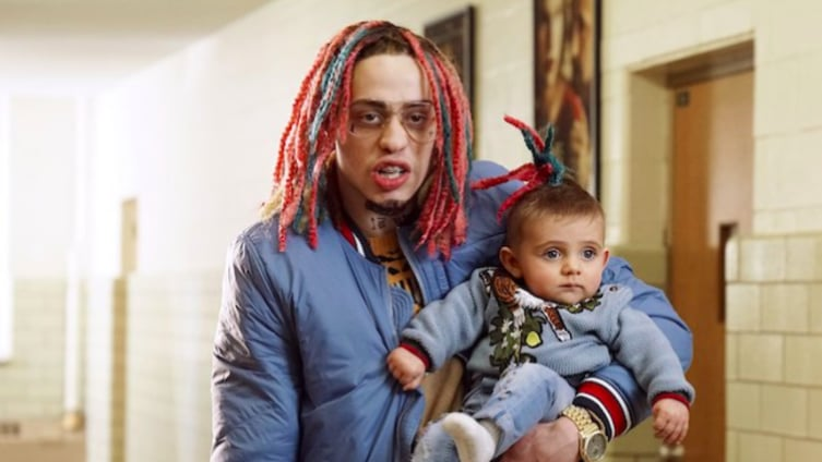 "abeeac7289 Watch Saturday Night Live s creative parody of Lil Pump s ""Gucci Gang"""