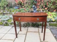 Georgian side table or dressing table