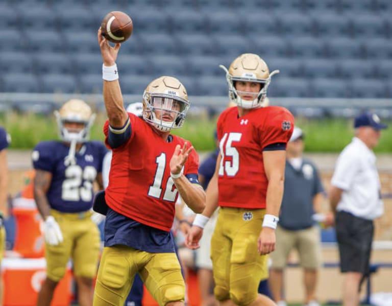 BlueAndGold - Notre Dame Quarterback Questions In 2020