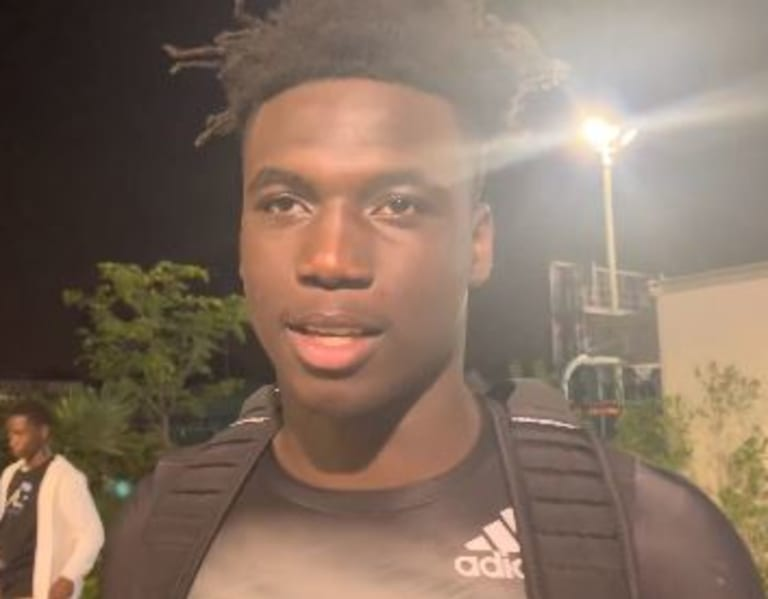 """CaneSport - James Williams talks recruiting after Paradise Camp: """"Everybody will see"""""""