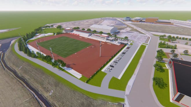 Nebraska will break ground on their new $16.5 million track facility this spring.