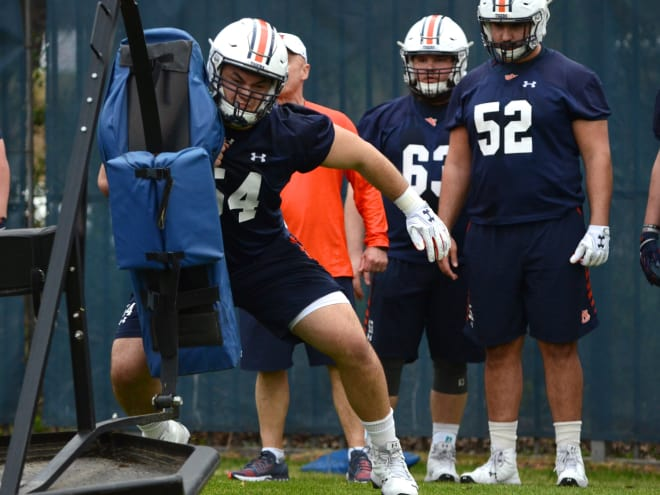 What's the plan for Jarrett Stidham at Auburn's A-Day scrimmage?