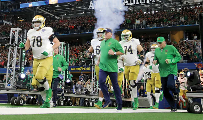 Notre Dame will attempt to finish in the top 10 in consecutive years for the first time since 1992-93.