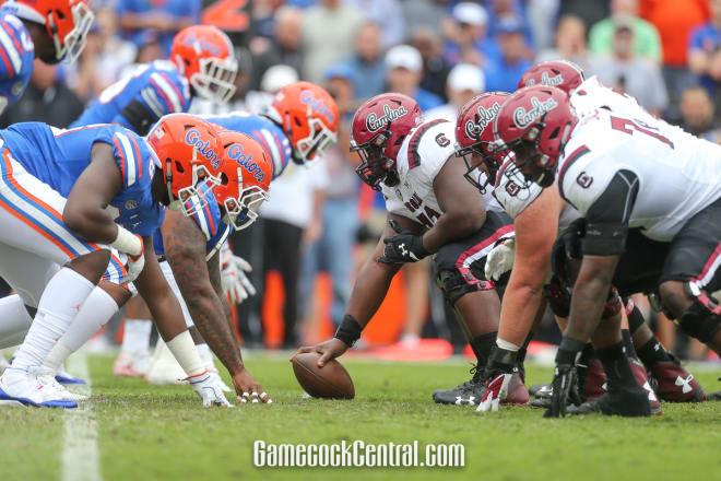 South Carolina and Florida square off at noon today.
