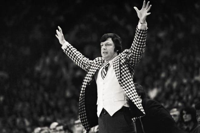 Former Notre Dame men's basketball coach Digger Phelps