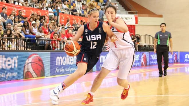 Top-ranked Samantha Brunelle also has been busy on the international circuit.