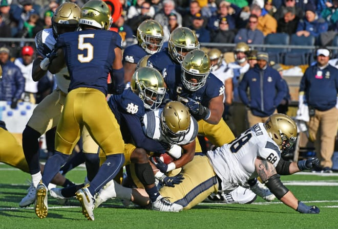 Notre Dame's defense has excelled each of the past two Novembers, allowing only 14.4 points per the seven contests played.
