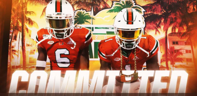 """CaneSport - LB commits after Sat. tour of campus: """"It felt like home"""""""