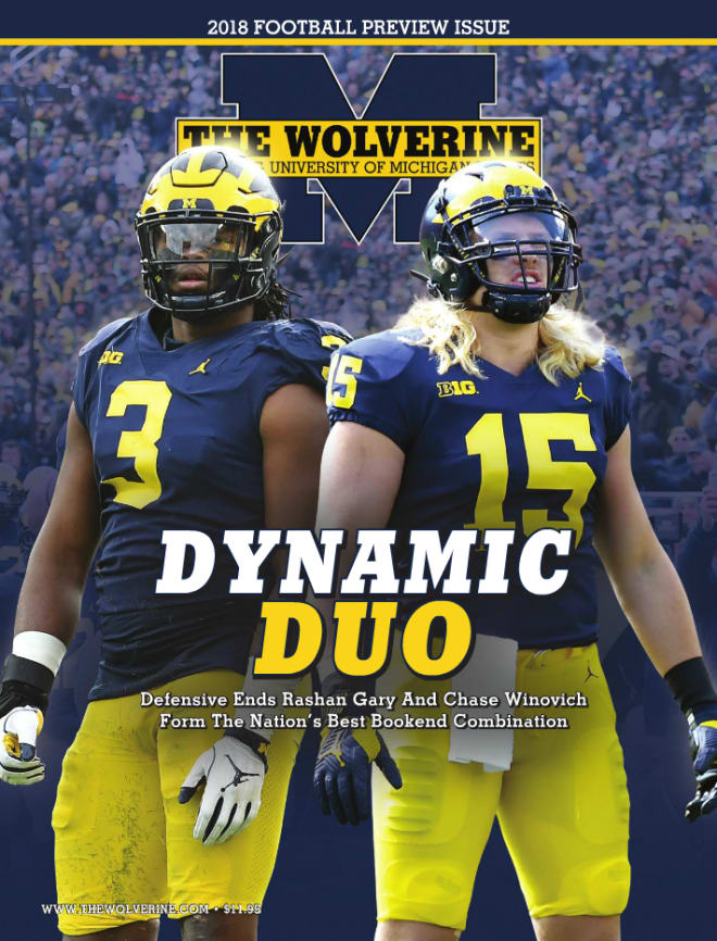 huge selection of 36ac8 7fa43 TheWolverine - Michigan Football Preview Excerpt: Rashan ...