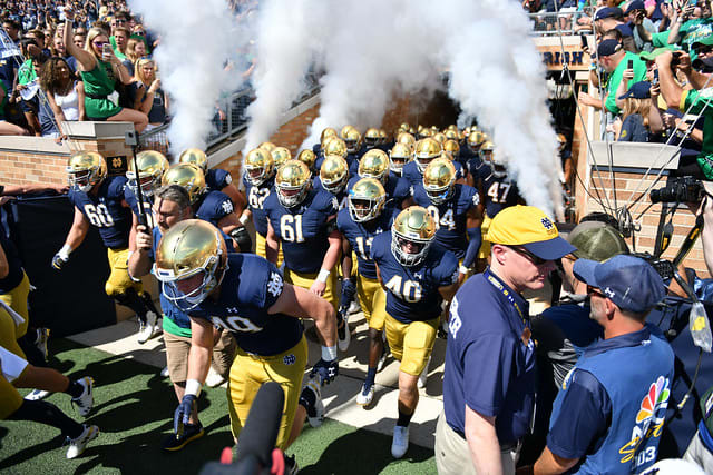 No. 15 Notre Dame will attempt to win its 21st straight game against an unranked opponent — not as easy as it sounds.