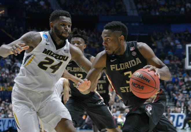 Junior Trent Forrest will be FSU's undisputed starting point guard this season.
