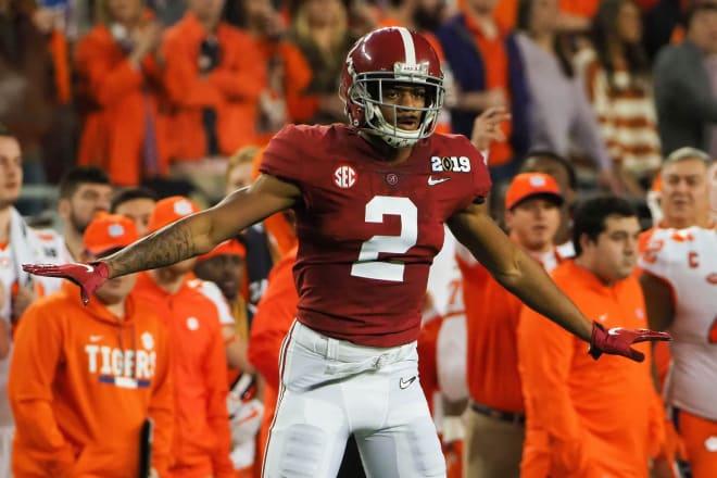 Alabama defensive back Patrick Surtain II. Photo | USA Today
