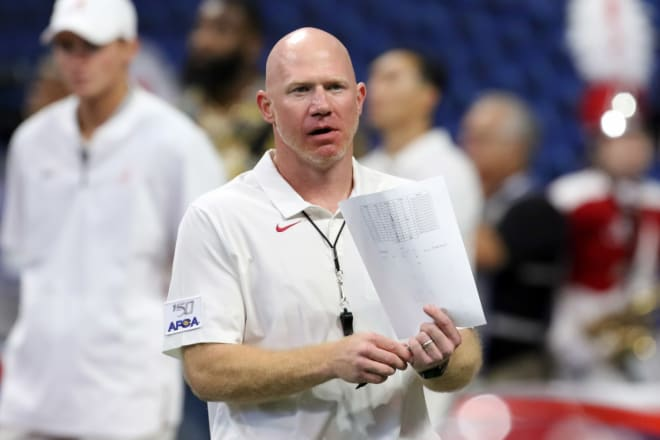 Alabama Crimson Tide strength and conditioning coach Scott Cochran. Photo | Getty Images